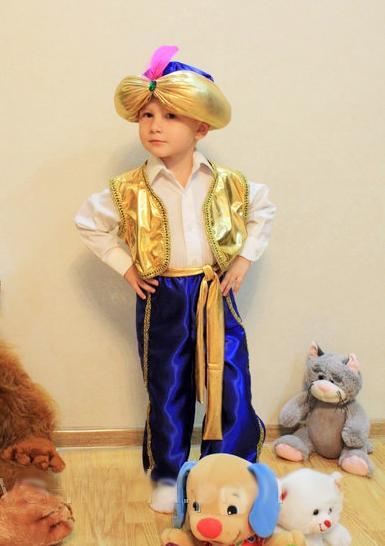 детский карнавальный костюм, султан султан фотография