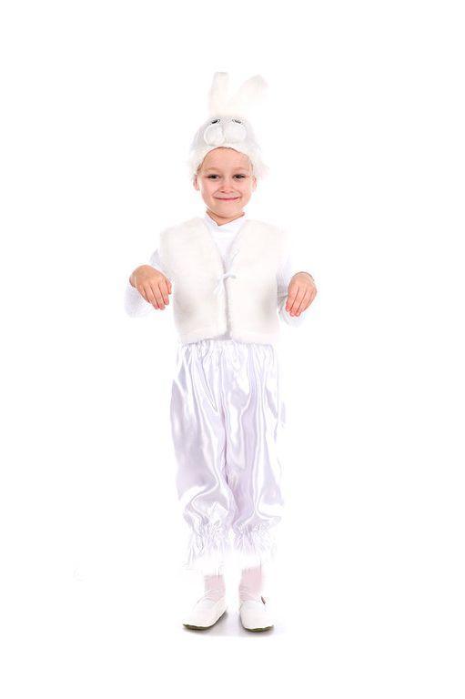 детский карнавальный костюм зайчик, зайчонок зайчик фотография
