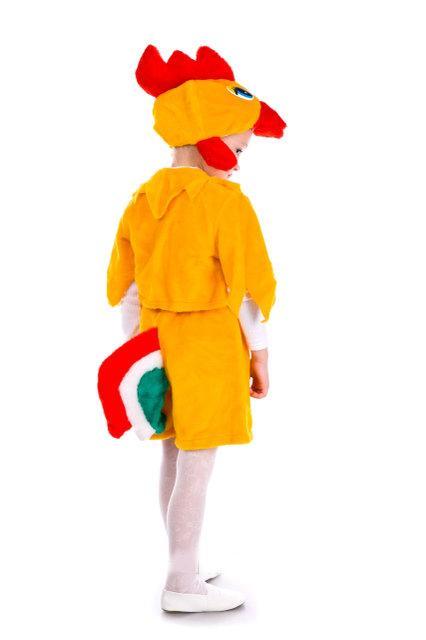 детский карнавальный костюм, золотой петушок петушок фотография