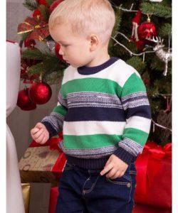 детский красивый свитер для мальчика 1563 фотография