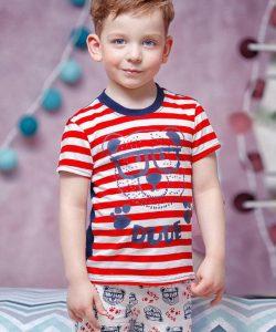 детский летний костюм на мальчика, мишутка 1805172 фотография