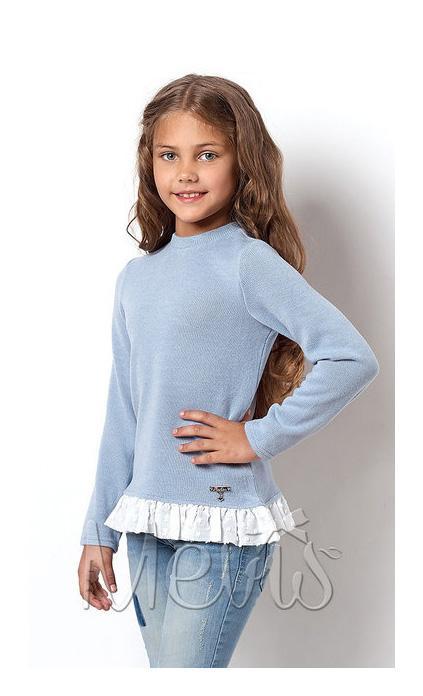 детский мягкий свитер для девочки, кашемир 2159 фотография