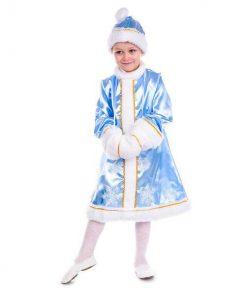 детский новогодний костюм для девочки, снегурочка снегурочка фотография