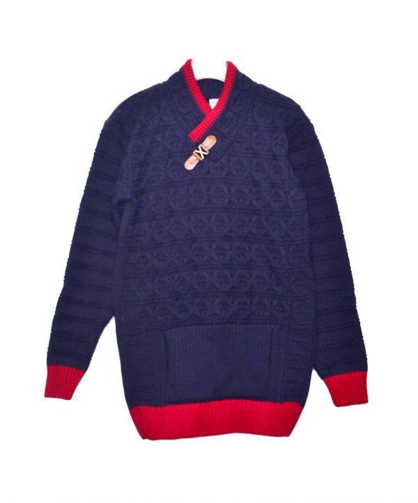 детский теплый свитер для мальчика 1004 фотография