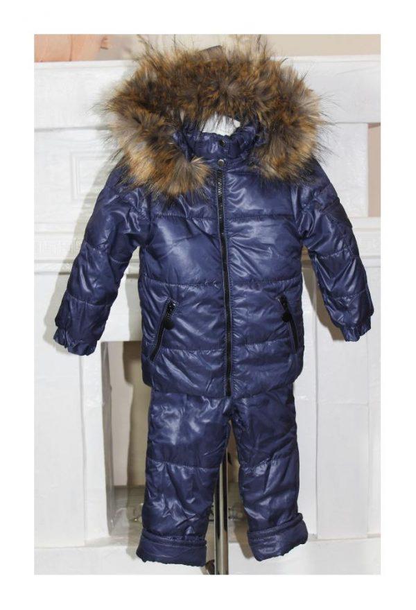 детский зимний костюм для мальчика модник 201016 фотография
