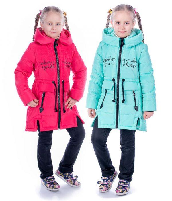 детское демисезонное пальто на девочку 1102175 фотография