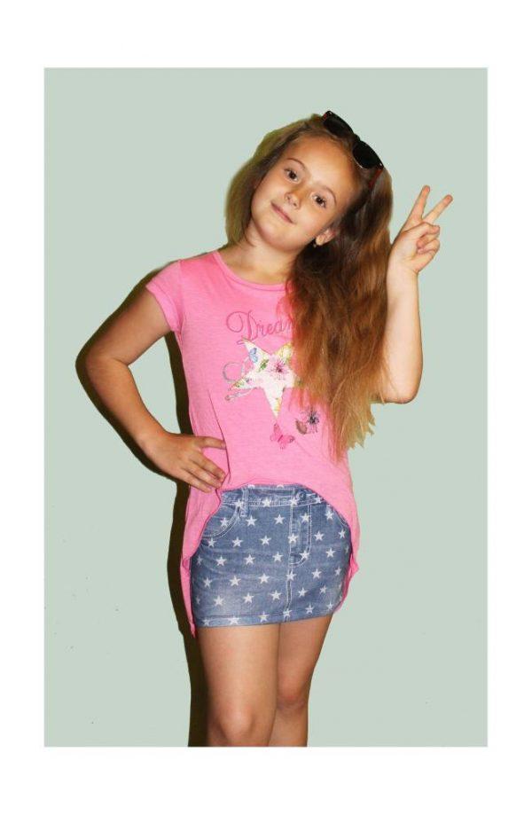 детское летнее платье для девочки соня, размеры 122-140 3727 фотография