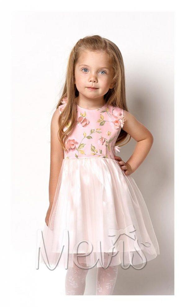 детское нарядное платье для девочки, цветочек 2132 фотография