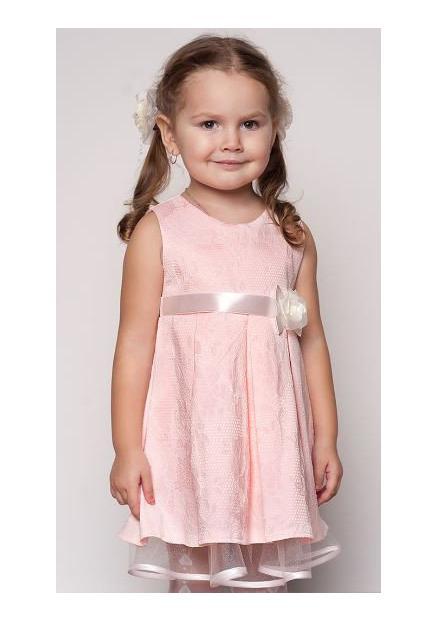 детское нарядное платье для девочки, рози 81215 фотография