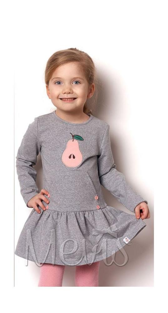 детское трикотажное платье для девочки грушка, размеры 98-116 2335 фотография