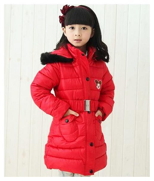 детское зимнее пальто на девочку, микки 19102 фотография