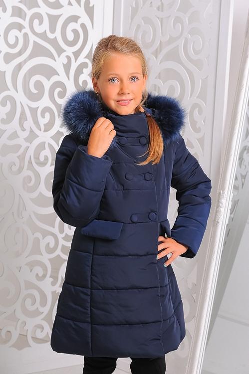 детское зимнее пальто на девочку милла 150913 фотография