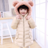 детское зимнее пальто пуховик на девочку 012 фотография №1