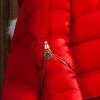 детское зимнее пуховое пальто на девочку 009 фотография №4