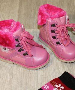 детские ботинки зимние для девочки 925 фотография