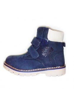 детские ботинки зимние для мальчика 1253 фотография