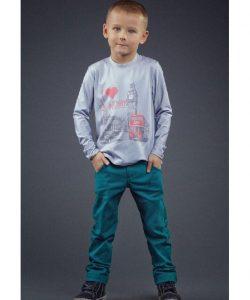 детские качественные брюки для мальчика 2200-23 фотография
