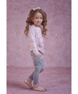 детские модные брюки на девочку, прованс 4063 фотография
