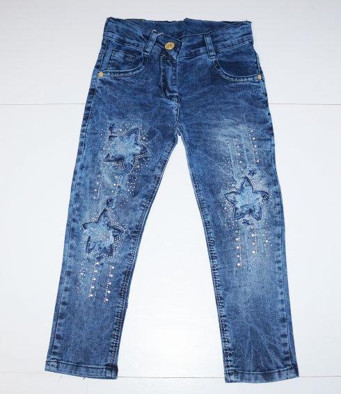 детские модные джинсы на девочку, звезды 20317 фотография