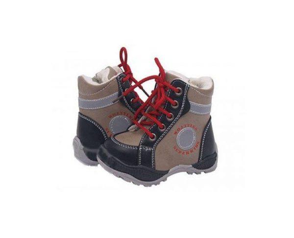 детские зимние ботинки на мальчика 121217 фотография