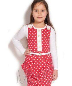детский красивый сарафан для девочки 40316 фотография