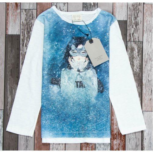 детский нарядный батник для девочки zara 6067 фотография