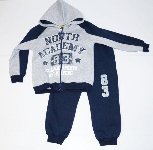 детский спортивный костюм для мальчика теплый 151117 фотография