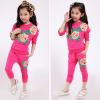 детский спортивный костюм на девочку розы 271215 фотография №3