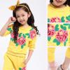 детский спортивный костюм на девочку розы 271215 фотография №5