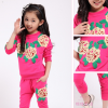 детский спортивный костюм на девочку розы 271215 фотография №6