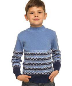 детский свитер для мальчика в двух цветах 131016 фотография