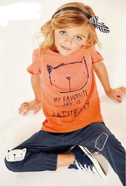 детский трикотажный костюм для девочки 290416 фотография