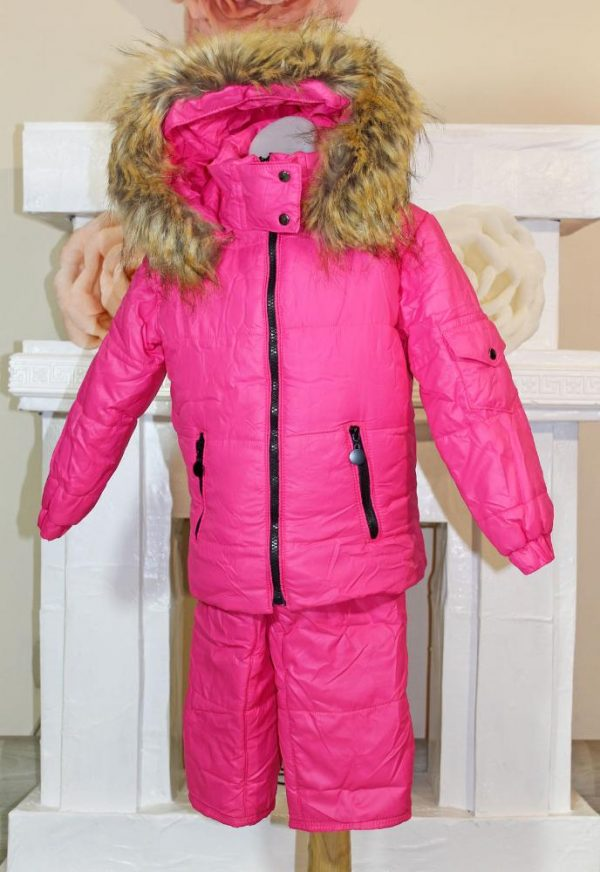 детский зимний костюм с курткой для девочки 2010162 фотография