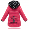 детский зимний пуховик на девочку 711114 фотография №1