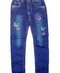 джинсы зимние для девочки на флисе 161116 фотография