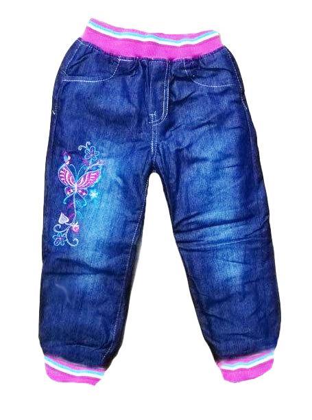 джинсы для девочки на флисе 1399 фотография