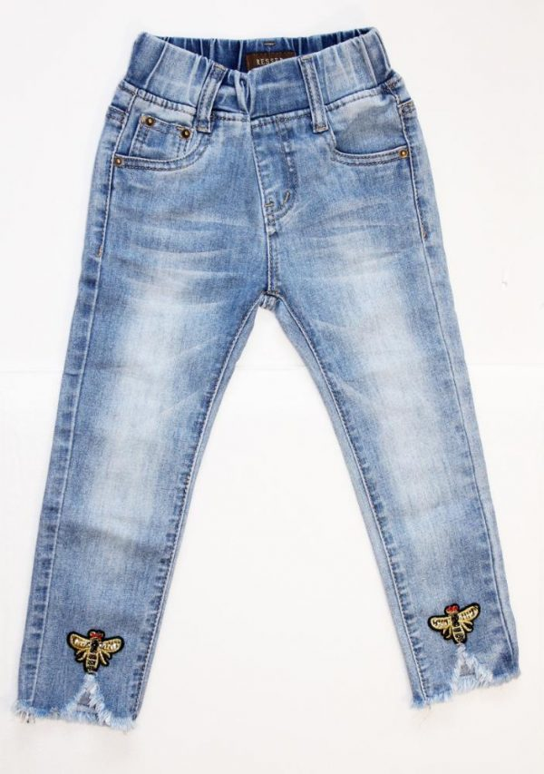 джинсы на девочку гуччи 3-9 лет 140219 140219 фотография