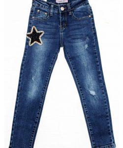 джинсы на девочку звезда 8-16 лет 9056 фотография