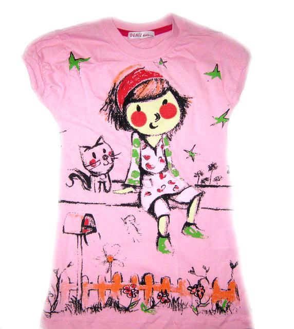 футболка для девочки 704146 фотография