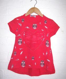 футболка для девочки розовая, совуня 1495 фотография