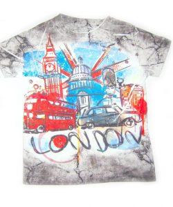 футболка для мальчика, лондон 120417 фотография