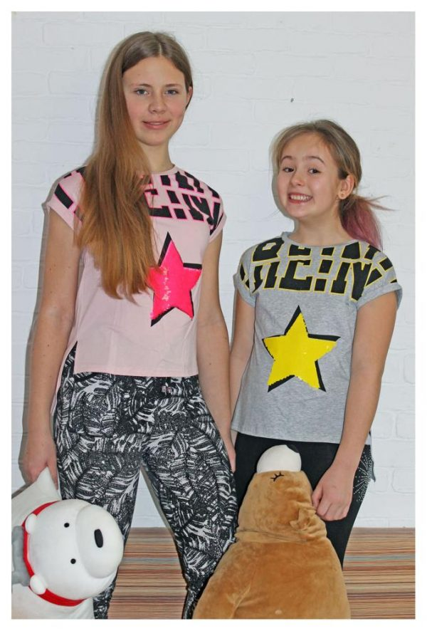 футболка на девочку звезда 80768 фотография
