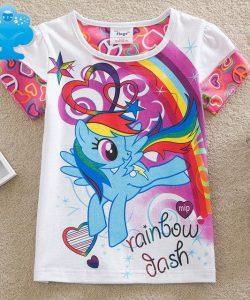 футболки для девочек 6126 фотография