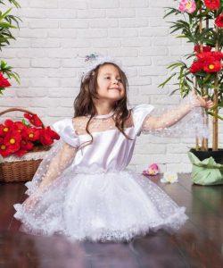 карнавальный костюм для девочки, снежинка снежинка фотография