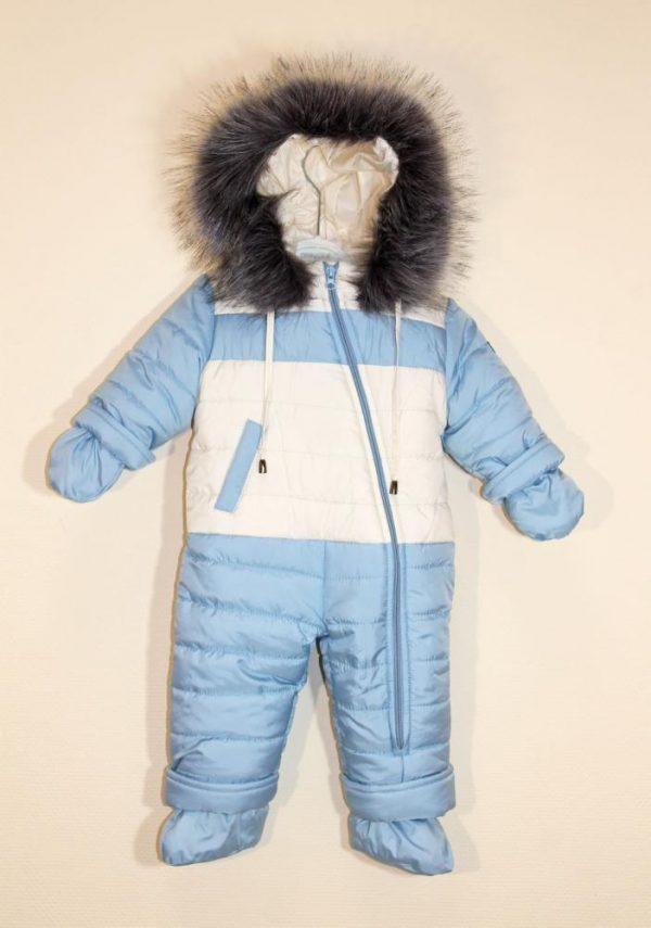 комбинезон зимний человечек на мальчика 41119 фотография