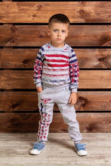 костюм детский для мальчика утепленный америка 6061 фотография