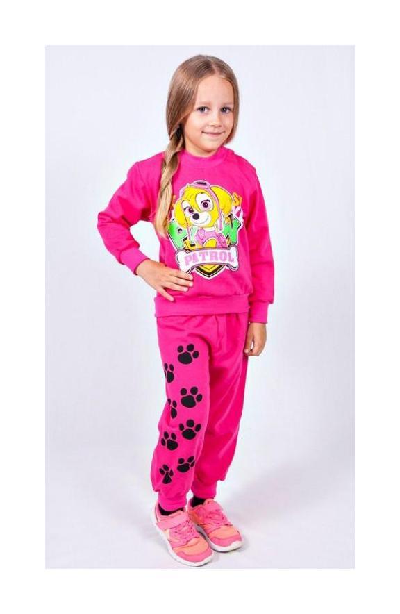 костюм детский спортивный на девочку 51116 фотография