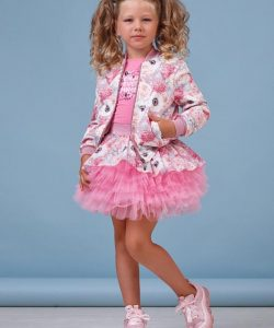 костюм для девочки розовый 2-4 года, cool baby 8014 фотография
