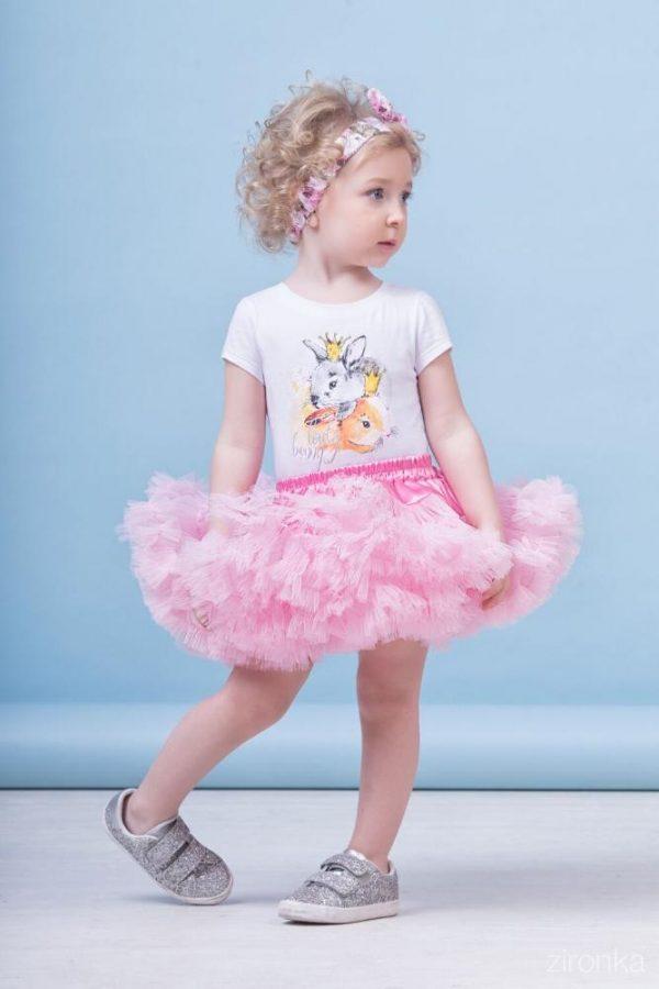 костюм для девочки с юбкой, маленькие стиляги 80002 фотография