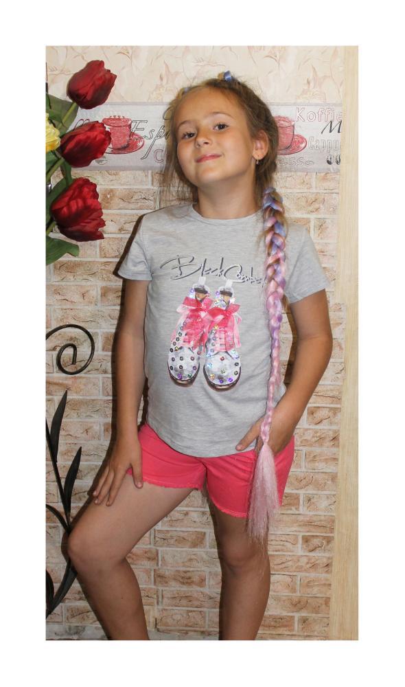костюм летний для девочки подростка ботиночки 7927 фотография